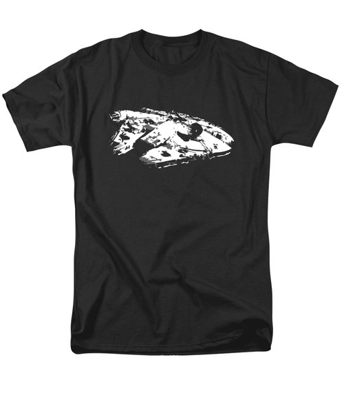 The Falcon In The Shadows Men's T-Shirt  (Regular Fit) by Ian King