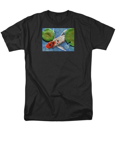 Hidden Koi Men's T-Shirt  (Regular Fit) by Rhi Johnson