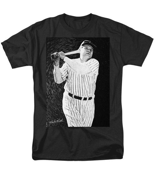 Babe Ruth Men's T-Shirt  (Regular Fit) by Taylan Apukovska