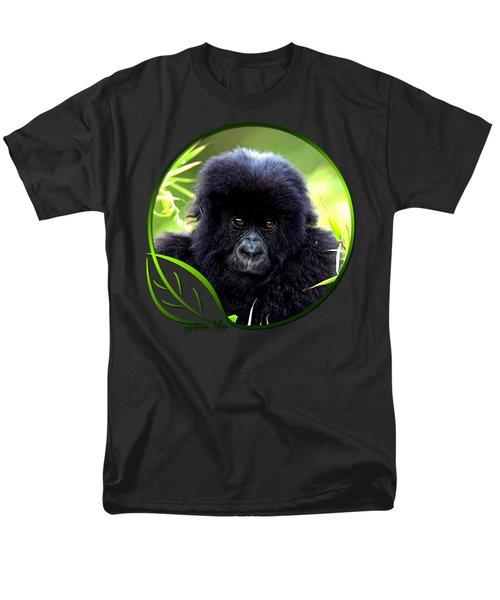 Baby Gorilla Men's T-Shirt  (Regular Fit) by Dan Pagisun