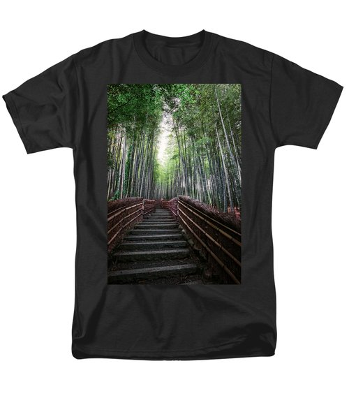 BAMBOO FOREST of JAPAN T-Shirt by Daniel Hagerman