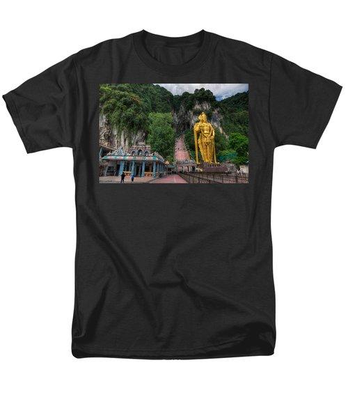 Batu Caves T-Shirt by Adrian Evans