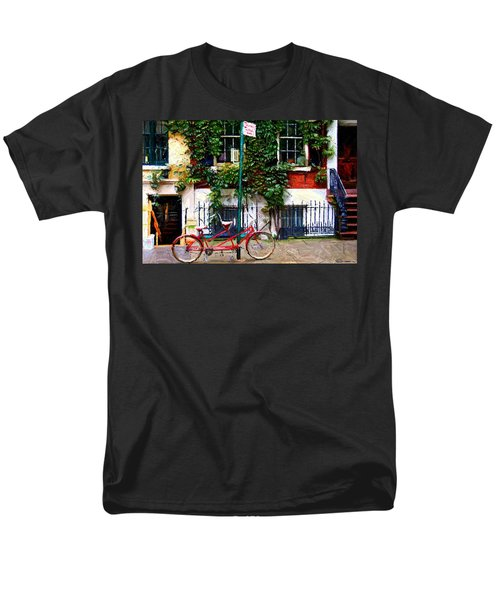 Bicycle Parking Sketch T-Shirt by Randy Aveille