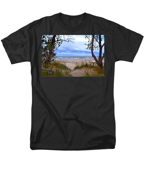 Big Waves on Lake Michigan 2.0 T-Shirt by Michelle Calkins