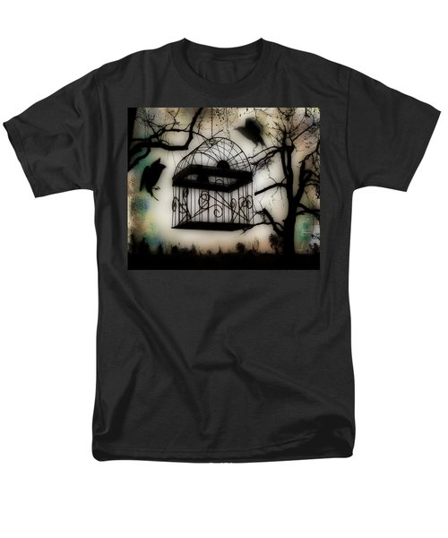 Birdcage Men's T-Shirt  (Regular Fit) by Gothicolors Donna