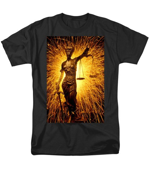 Blind Justice  T-Shirt by Garry Gay