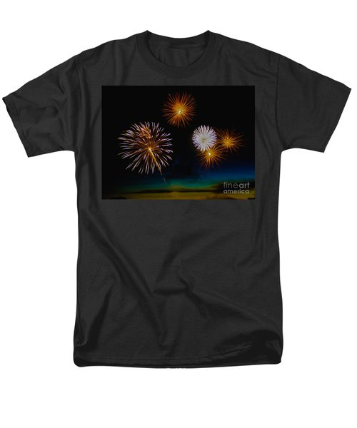 Bombs Bursting In The Air T-Shirt by Robert Bales