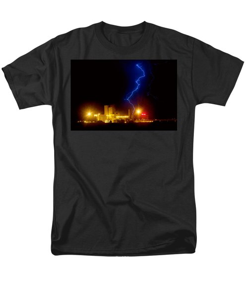 Budweiser Lightning Strike T-Shirt by James BO  Insogna