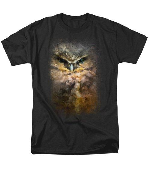 Burrowing Owl Men's T-Shirt  (Regular Fit) by Jai Johnson