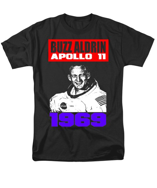 Buzz Aldrin Men's T-Shirt  (Regular Fit) by Otis Porritt