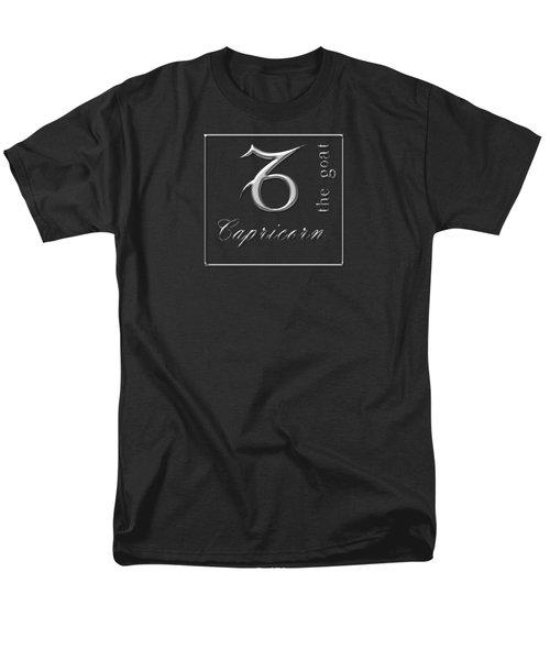 Capricorn Dec 22 To Jan 19 Men's T-Shirt  (Regular Fit) by Fran Riley