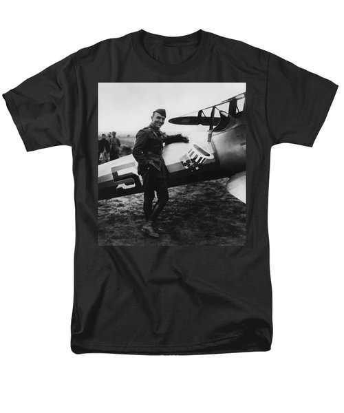 Captain Rickenbacker T-Shirt by War Is Hell Store