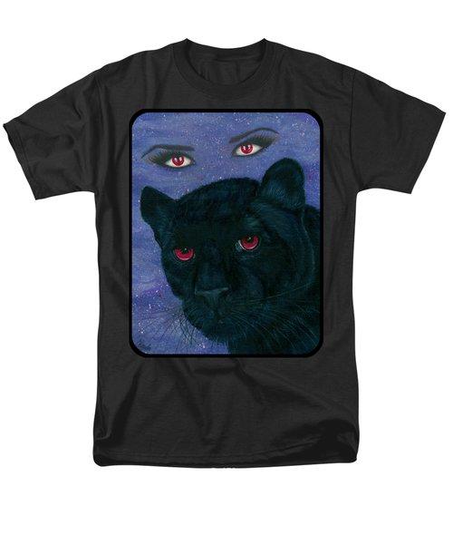 Carmilla - Black Panther Vampire Men's T-Shirt  (Regular Fit) by Carrie Hawks