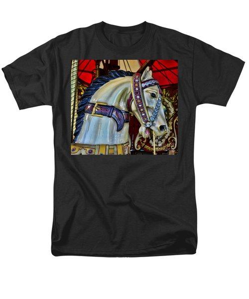 Carousel Horse - 7 T-Shirt by Paul Ward