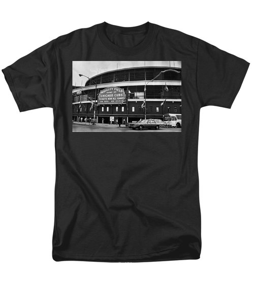 Chicago: Wrigley Field Men's T-Shirt  (Regular Fit) by Granger