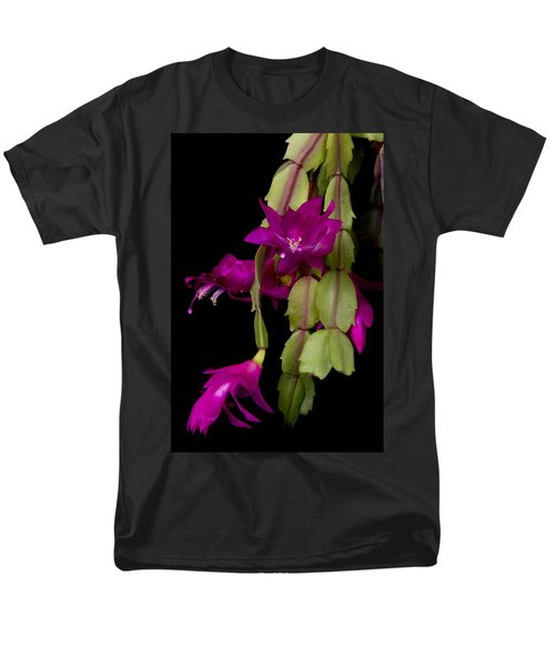 Christmas Cactus Purple Flower blooms T-Shirt by James BO  Insogna