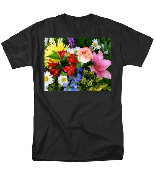 Color Explosion T-Shirt by Kristin Elmquist