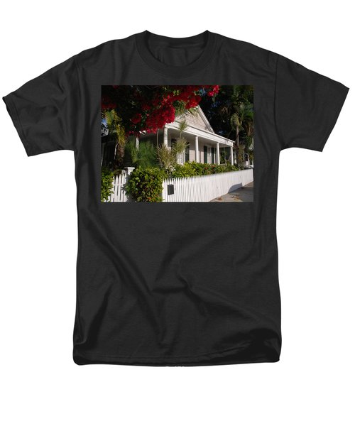 Conch House in Key West T-Shirt by Susanne Van Hulst