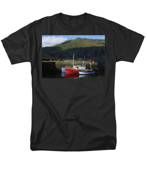 Connemara, Co Galway, Ireland Fishing T-Shirt by The Irish Image Collection
