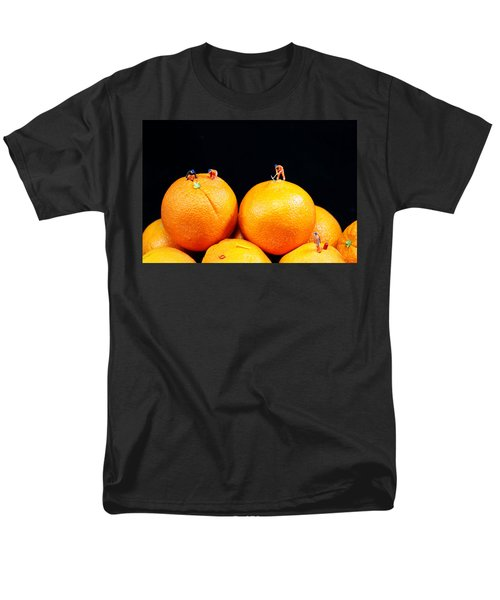 Construction on oranges T-Shirt by Paul Ge