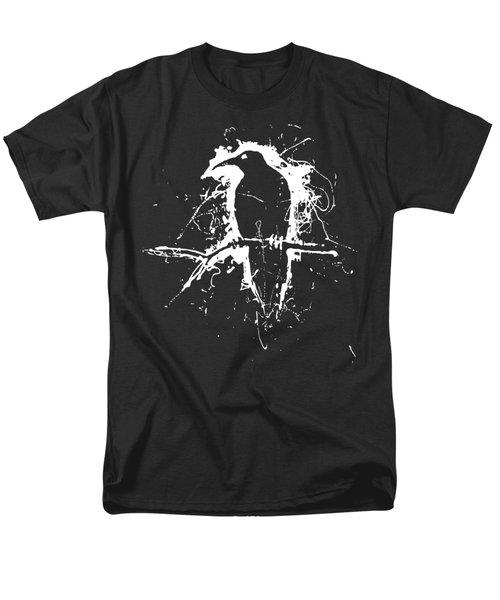 Crow Men's T-Shirt  (Regular Fit) by H James Hoff