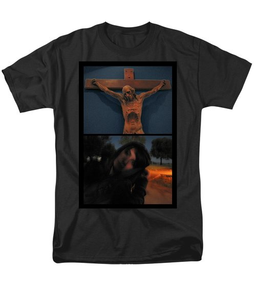 Crucifixion T-Shirt by James W Johnson