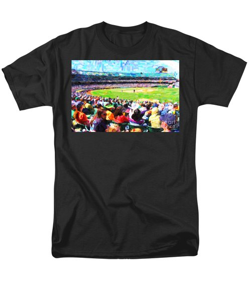 Day Game At The Old Ballpark T-Shirt by Wingsdomain Art and Photography
