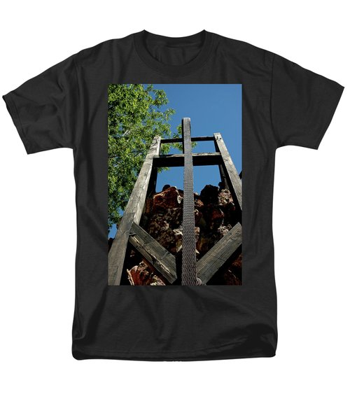 Down the Shaft Virginia City NV T-Shirt by LeeAnn McLaneGoetz McLaneGoetzStudioLLCcom