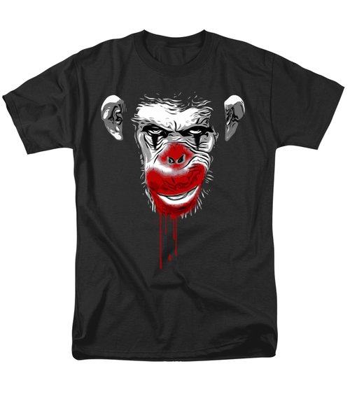 Evil Monkey Clown Men's T-Shirt  (Regular Fit) by Nicklas Gustafsson