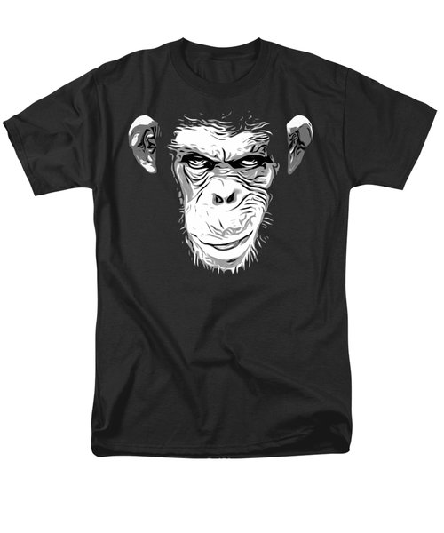Evil Monkey Men's T-Shirt  (Regular Fit) by Nicklas Gustafsson