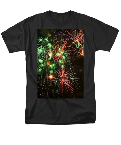Fireworks 4th of July T-Shirt by Garry Gay