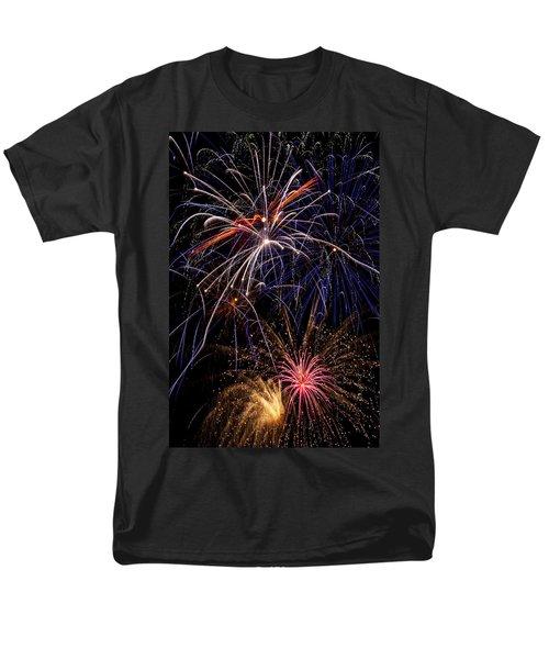 Fireworks Celebration  T-Shirt by Garry Gay