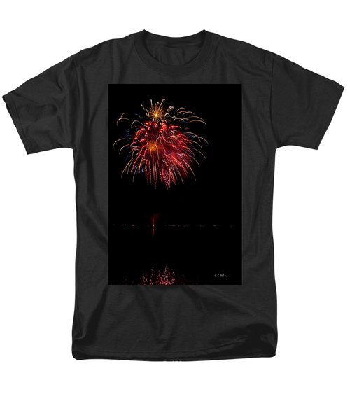 Fireworks II T-Shirt by Christopher Holmes