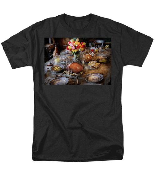 Food - Easter Dinner T-Shirt by Mike Savad
