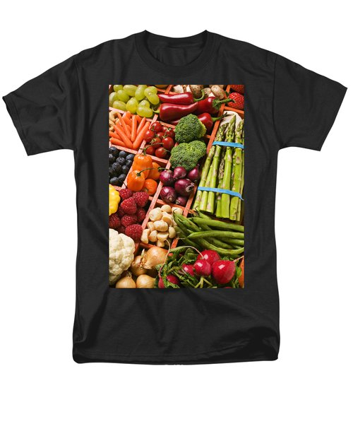 Food Compartments  Men's T-Shirt  (Regular Fit) by Garry Gay