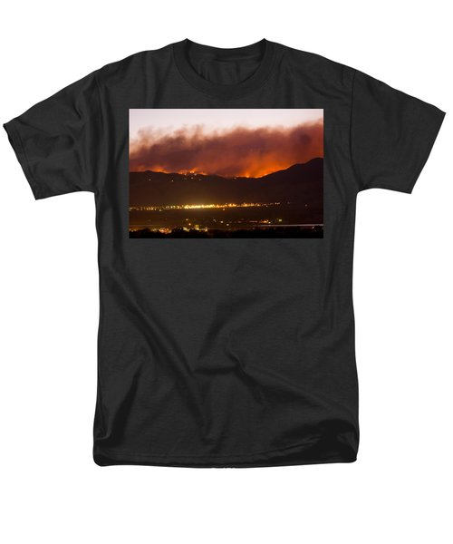 Fourmile Canyon Fire Burning Above North Boulder T-Shirt by James BO  Insogna