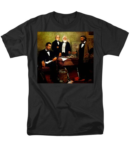 Frederick Douglass appealing to President Lincoln T-Shirt by War Is Hell Store