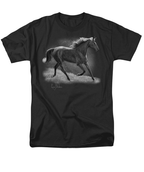 Free - Black And White Men's T-Shirt  (Regular Fit) by Lucie Bilodeau