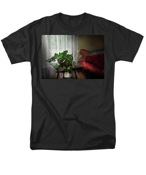 Furniture - Plant - Ivy in a window  T-Shirt by Mike Savad