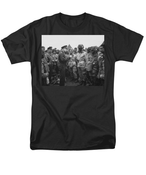 General Eisenhower on D-Day  T-Shirt by War Is Hell Store