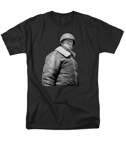 General George S. Patton Men's T-Shirt  (Regular Fit) by War Is Hell Store