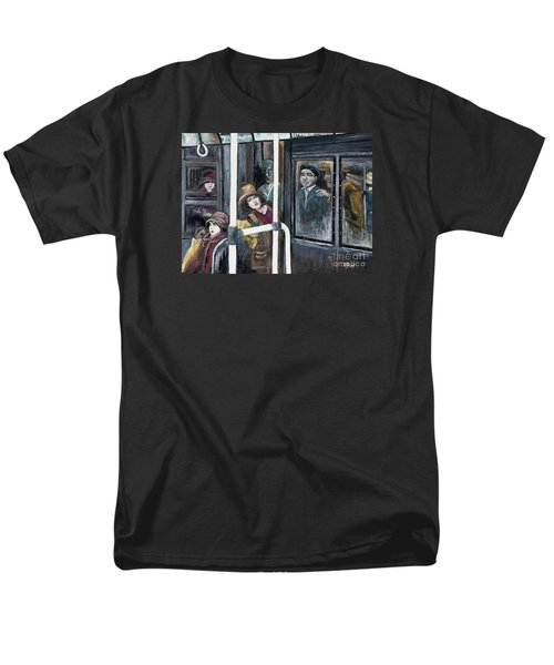 Gloria Swanson in Subway Scene From Manhandled T-Shirt by Reb Frost