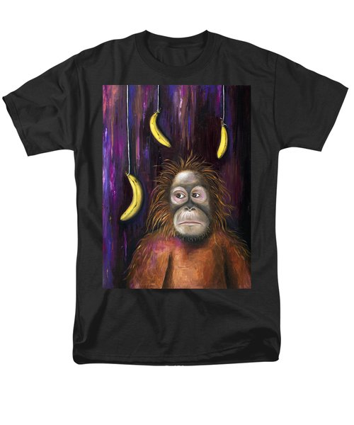 Going Bananas Men's T-Shirt  (Regular Fit) by Leah Saulnier The Painting Maniac