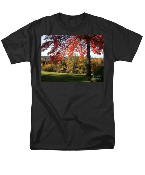 Gonzaga with Autumn Tree Canopy T-Shirt by Carol Groenen
