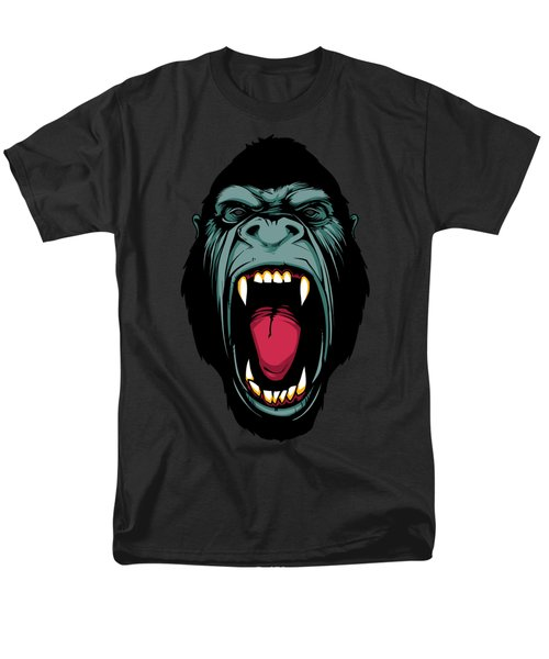 Gorilla Face Men's T-Shirt  (Regular Fit) by John D'Amelio