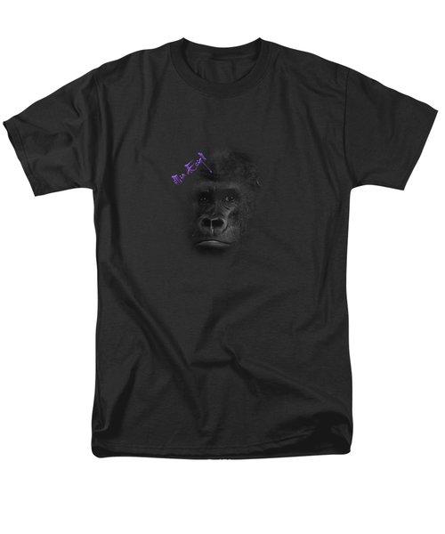 Gorilla Men's T-Shirt  (Regular Fit) by Maria Astedt