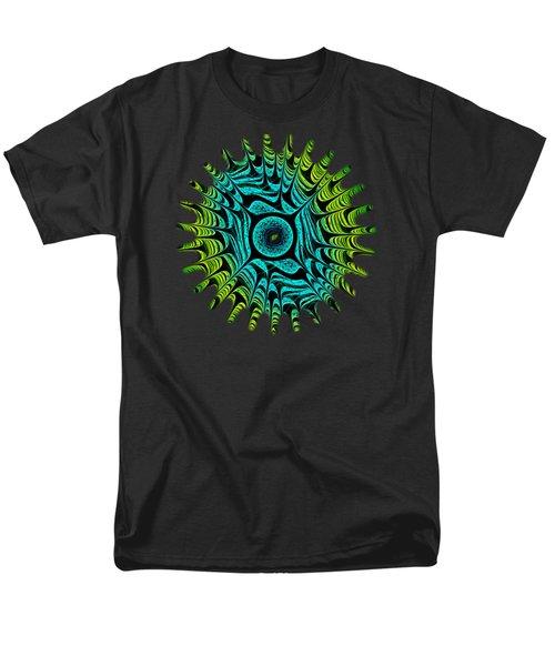 Green Dragon Eye Men's T-Shirt  (Regular Fit) by Anastasiya Malakhova