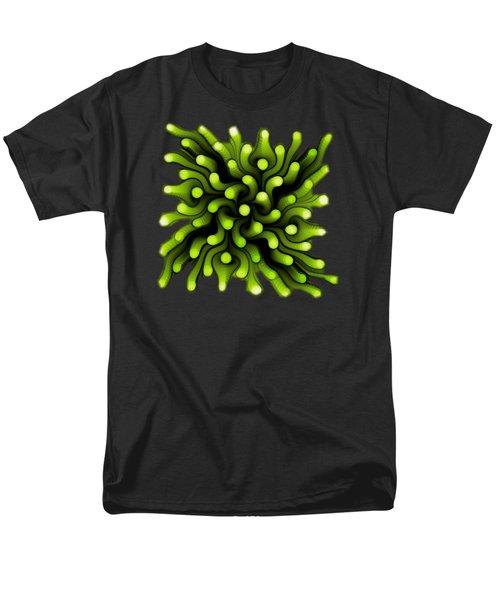 Green Sea Anemone Men's T-Shirt  (Regular Fit) by Anastasiya Malakhova