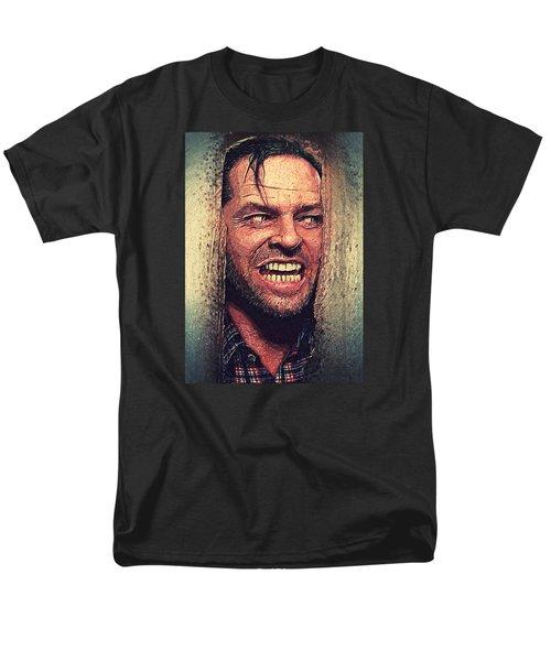 Here's Johnny - The Shining  Men's T-Shirt  (Regular Fit) by Taylan Soyturk