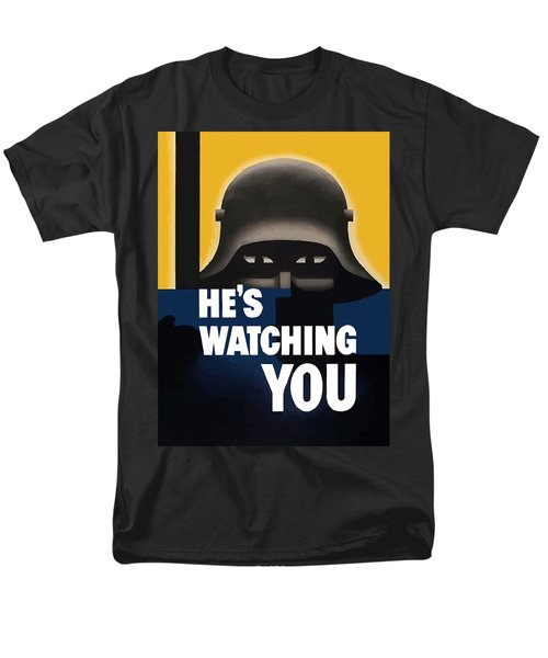 He's Watching You T-Shirt by War Is Hell Store